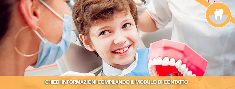 Odontoiatria Infantile per bambini e ragazzi